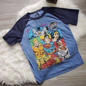 DC Comics Justice League Sz Small T-Shirt